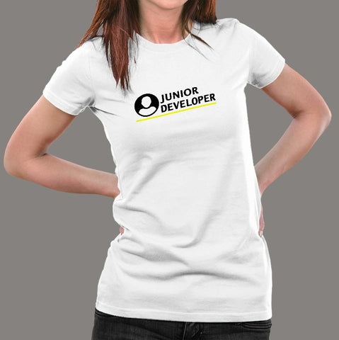 Junior Developer T-Shirt For Women
