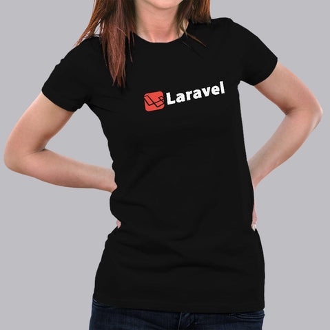 Laravel PHP Framework T-Shirt For Women Online India