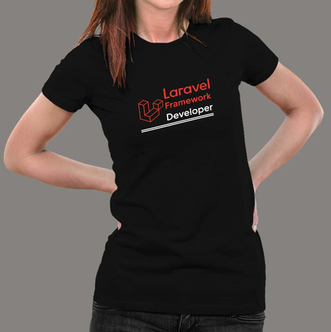 PHP Laravel Framework Developer Women's Profession T-Shirt Online India