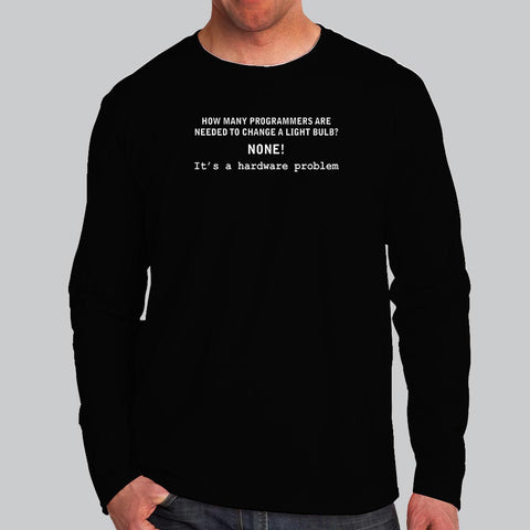 Light Bulb Programmer Men's T-shirt