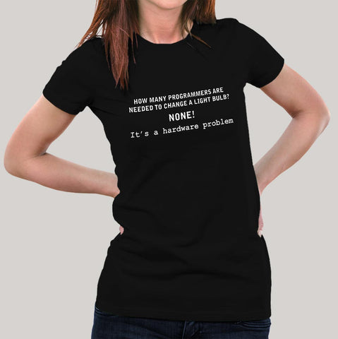 Light Bulb Programmer Women's T-shirt