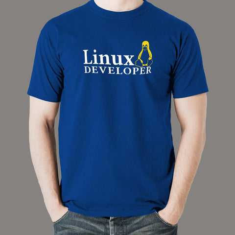 Linux Developer Men's Profession T-Shirt Online India