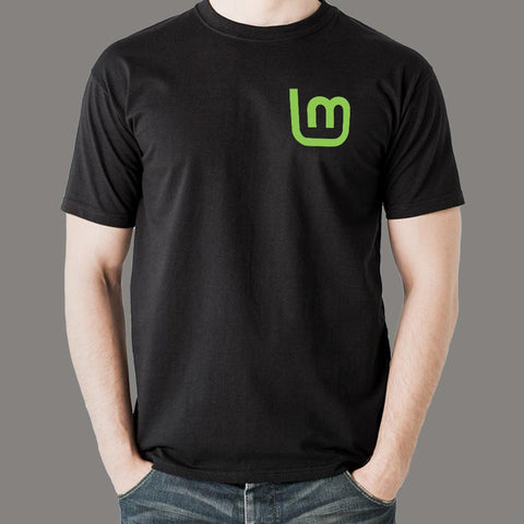 Linux Mint Men's T-Shirt Online India