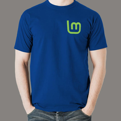 Linux Mint T-Shirt For Men