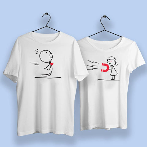 Love Magnet DreamBag Couple T Shirts Online India