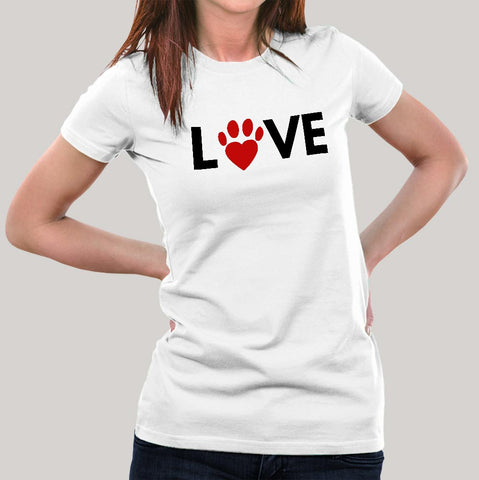 Love Animals Women's T-shirt