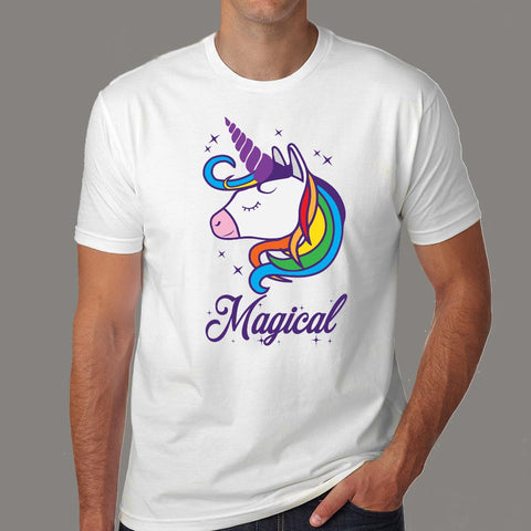 Unicorn Magical T-Shirt For Men online india