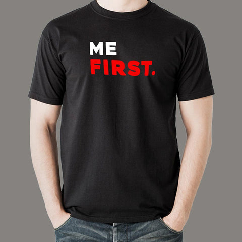 Me First Men's Attitude T-Shirt india