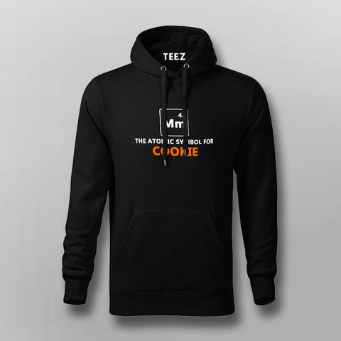 Mm The Atomic Symbol For Cookie Funny Hoodies For Men