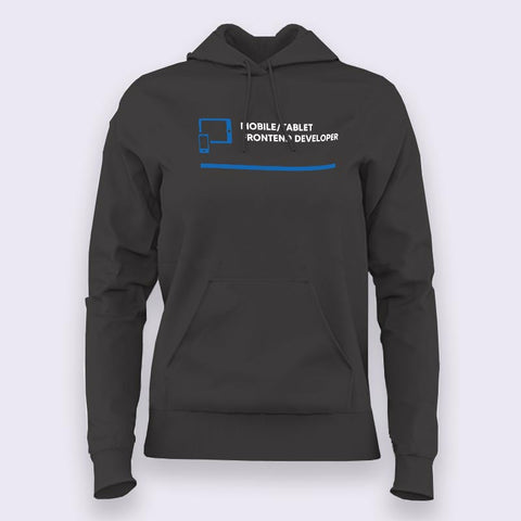 Mobile Tablet Front End Developer Women's Profession Hoodies Online India