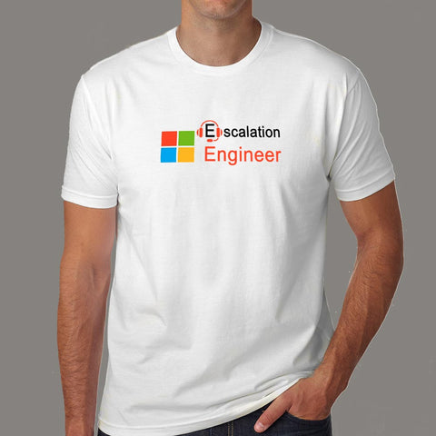 Microsoft Escalation Engineer Men's Profession T-Shirt Online India