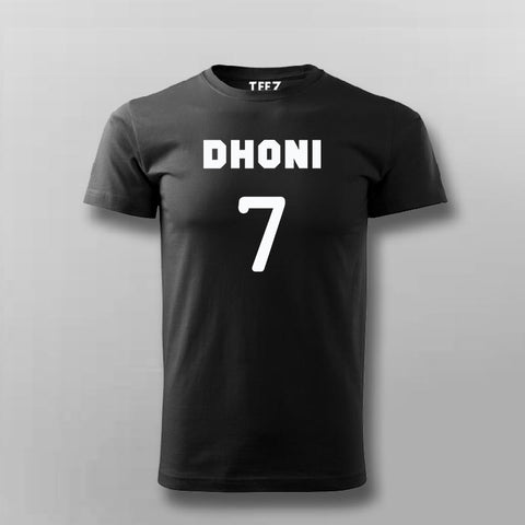 Ms Dhoni T-Shirt For Men Online India