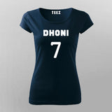Ms Dhoni T-Shirt For Women Online India