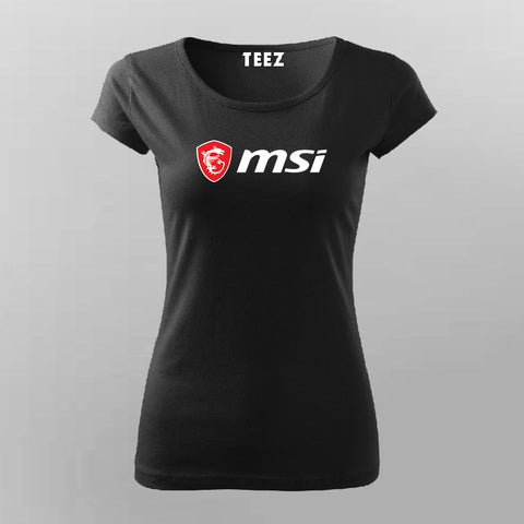 Msi Gaming T-Shirt For Women Online India