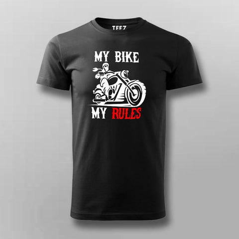 My Bike My Rules T-Shirt For Men Online India