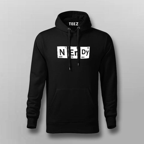 Nerdy Periodic Table Of Elements Hoodies For Men Online India