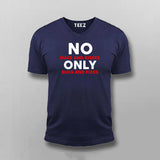No Hugs And Kisses Only Bugs And Fixes Funny Programmer T-Shirt For Men
