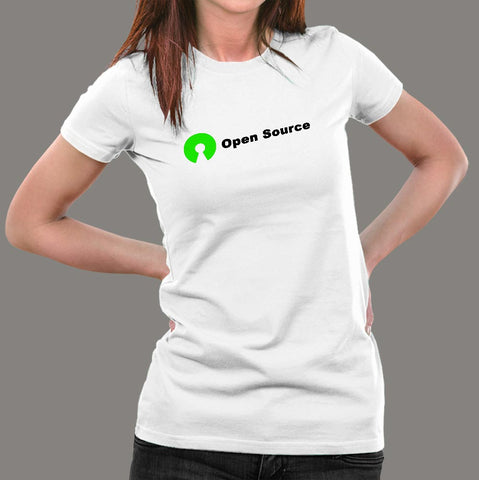 Open Source T-Shirt For Women