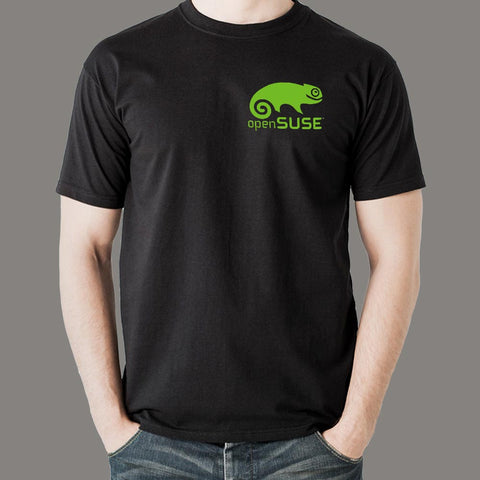 Opensuse Linux Men's T-Shirt Online India