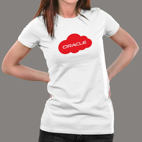 Oracle Cloud T-Shirt For Women India