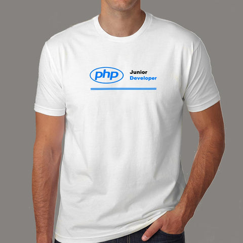 Php Junior Developer Men's Profession T-Shirt Online India