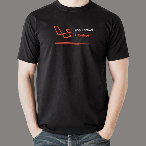 PHP Laravel Developer Men's Profession T-Shirt Online India