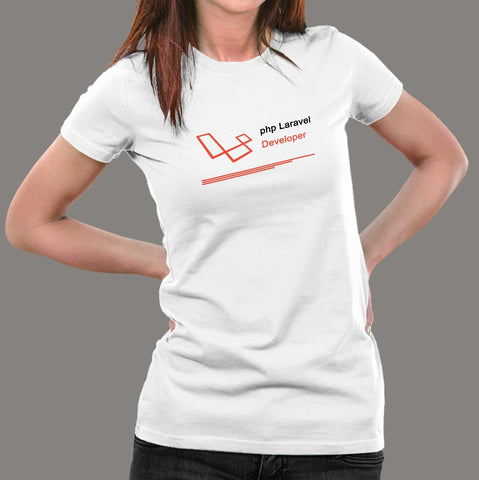 PHP Laravel Developer Women's Profession T-Shirt Online India