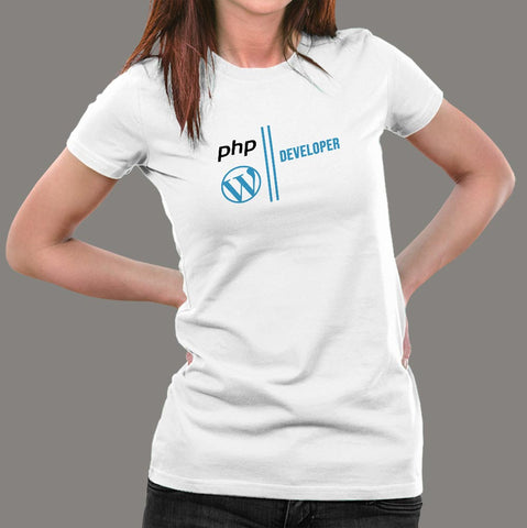 Microsoft Php Developer Developer Women's Profession T-Shirt Online India