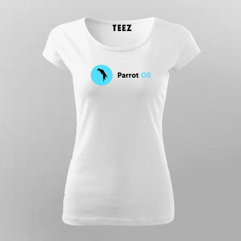 Parrot OS Linux T-Shirt For Women Online India