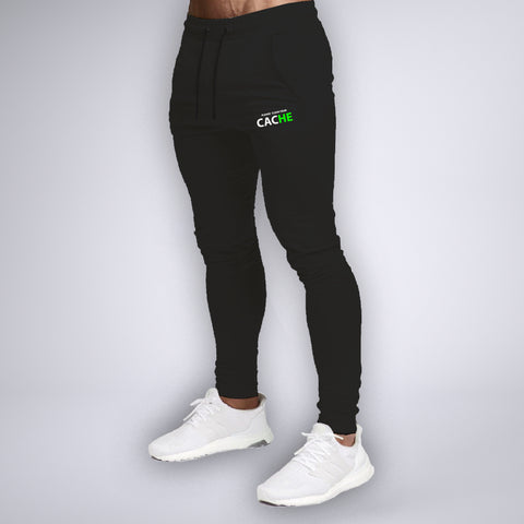 Please Clear Your Cache Printed Joggers For Men Online