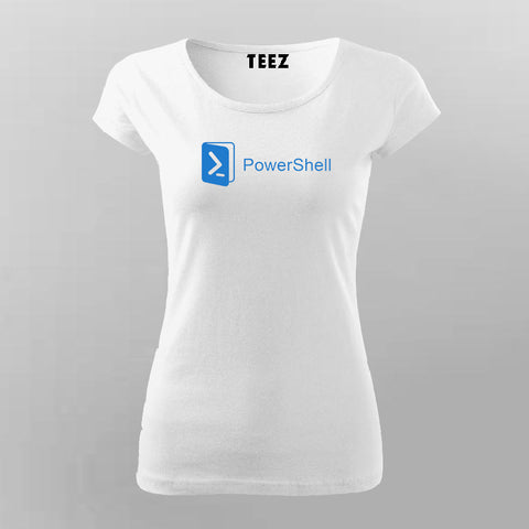 Powershell T-Shirt For Women Online India