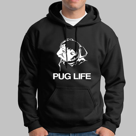 Pug Life Dog Hoodies India