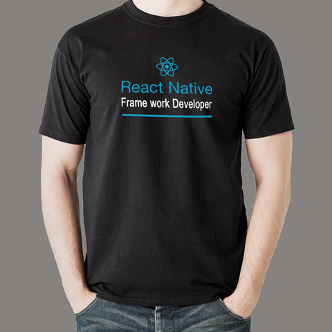 React Native Framework Developer Men's Profession T-Shirt