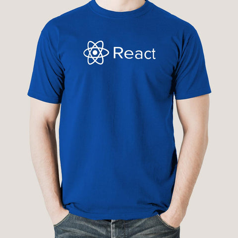 React Js Javascript T-Shirt For Men