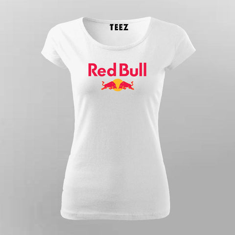 Red Bull T-Shirt For Women Online India