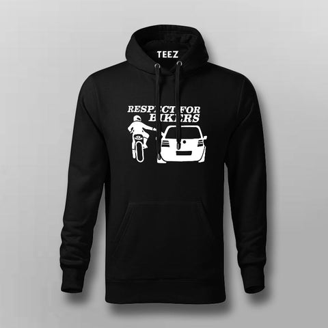 Respect For Bikers Hoodies For Men Online India