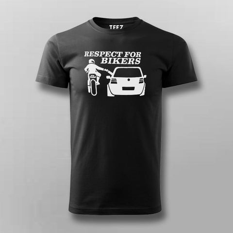 Respect For Bikers T-Shirt For Men Online India