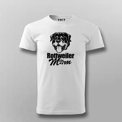Rottweiler Mom T-Shirt For Men Online India