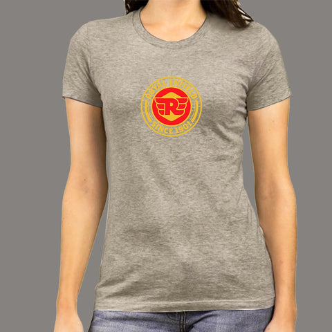 Royal Enfield T-shirt For Women