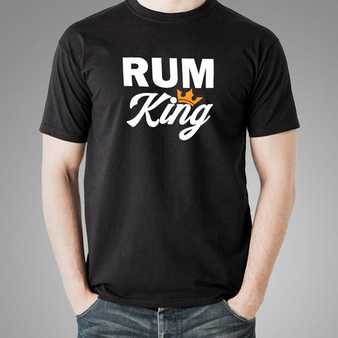 Rum King T-Shirt For Men Online India