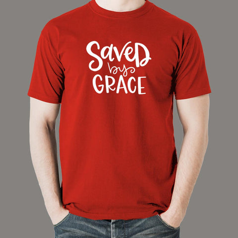Saved By Grace T-Shirt For Men Online India