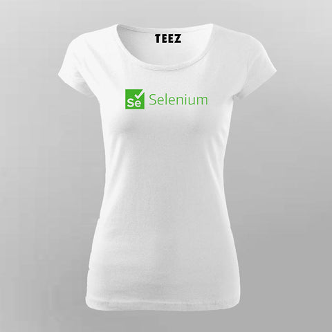 Selenium Framework T-Shirt For Women Online India