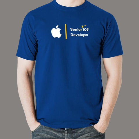 Senior Ios Developer Men's Profession T-Shirt Online India