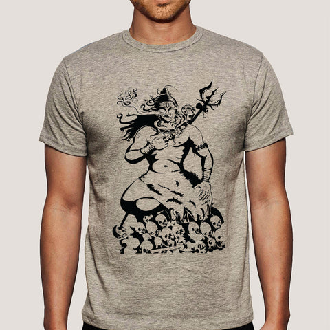 Lord Shiva Holy Smoke Men's T-shirt