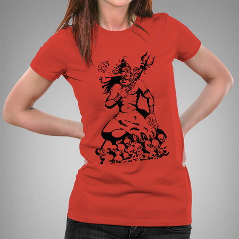 Lord Shiva Holy Smoke Women's T-shirt