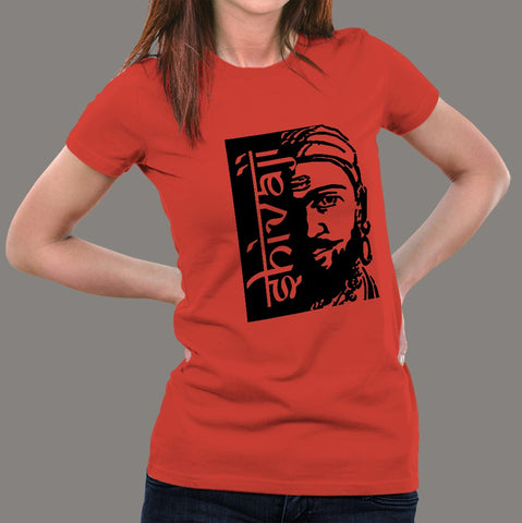 Shivaji Maharaj Women's T-Shirt online india