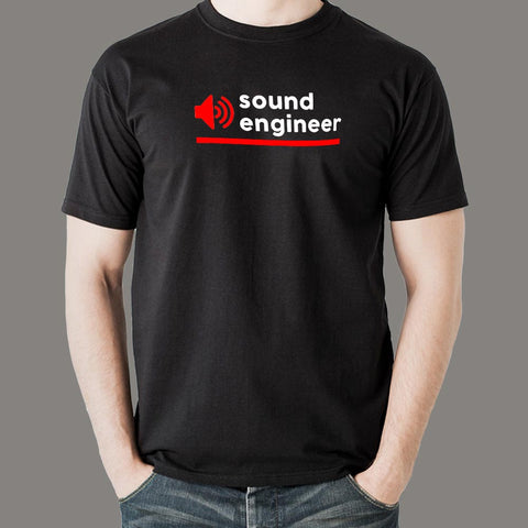 Sound Engineer T-Shirt For Men