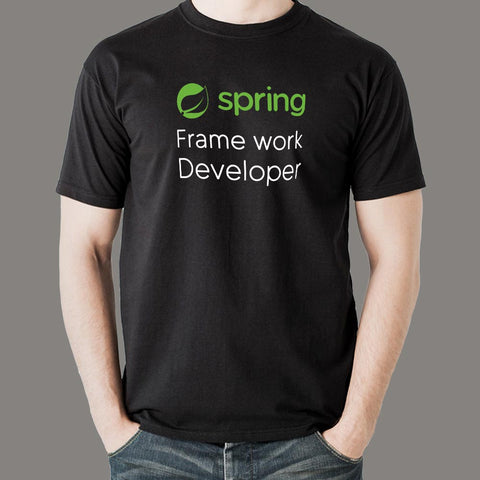 Spring Framework Developer Men's Profession T-Shirt Online India