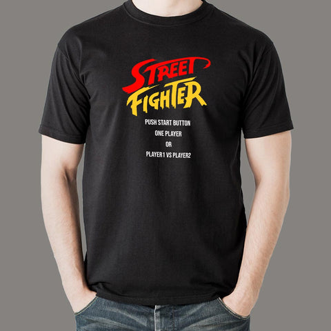 Street Fighter Gaming T-Shirt For Men Online India