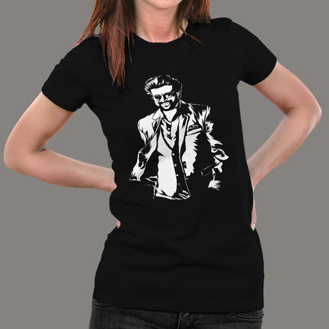 Superstar Rajinikanth's Darbar Women's T-Shirt Online India